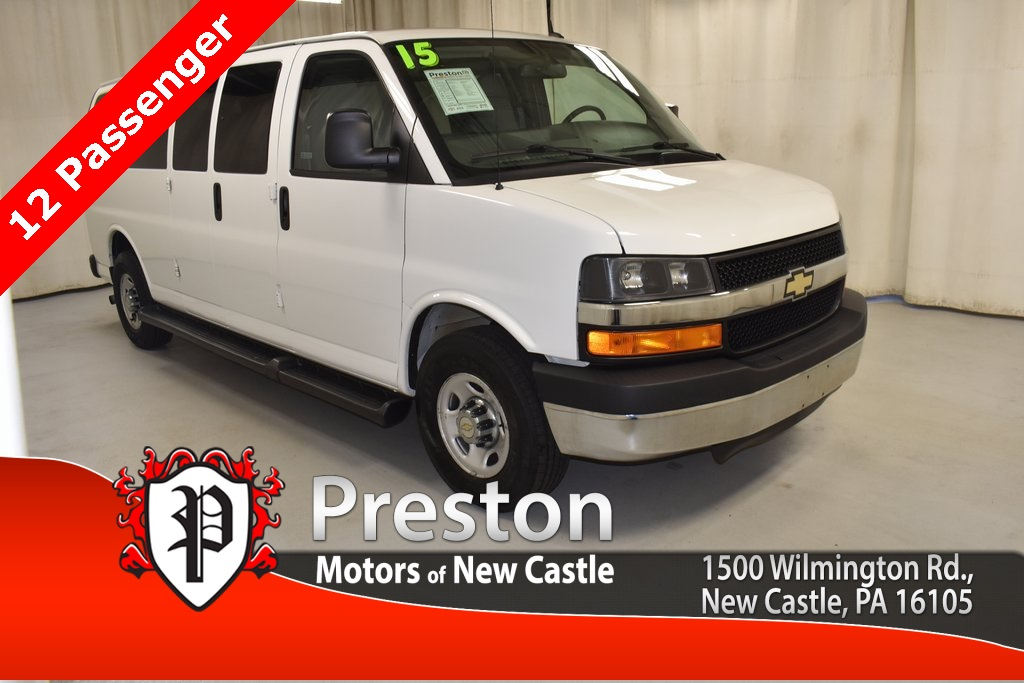 Pre-Owned 2015 Chevrolet Express 3500 LT