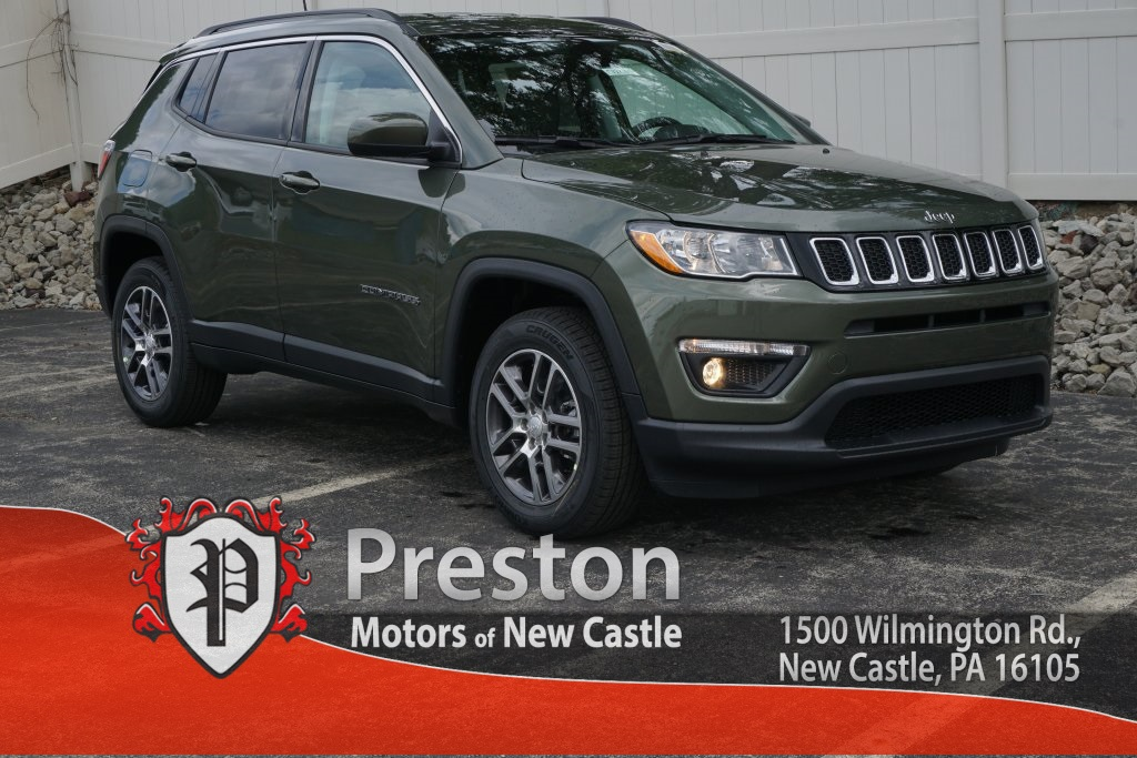 New 2018 Jeep Compass Latitude Sport Utility in New Castle C18014
